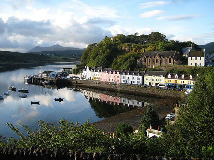 Portree Harbour.  Photo by Markus Bernet