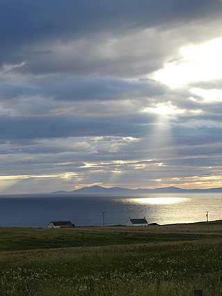 View to the Western Isles from Borneskitaig.