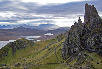 Trotternish Ridge at Old Man of Storr